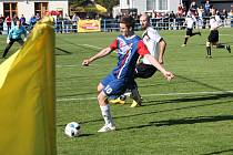 Fotbalisté Blanska doma prohráli s Uherským Brodem 0:1.