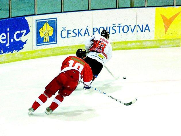 Hokejisté Blanska opět podlehli Prostějovu. Vybojovali alespoň bod.