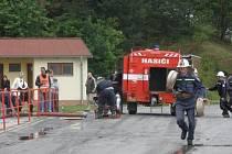 Vratíkovští dobrovolní hasiči mají požární útok zmáknutý na jedničku.