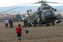 Letecký den při příležitosti dvaceti let trvání letiště v Kotvrdovicích nabídl pestrý program.