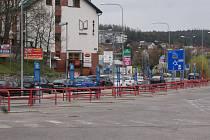 Blanenské autobusové nádraží. Ilustrační foto.