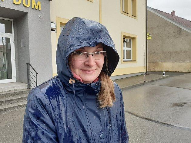 Alena Pernicová, 33let, na rodičovské dovolené.