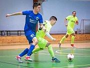 V letošním posledním kole futsalové divize E prohrál Pro-STATIC Blansko (žluté dresy) doma s FC Kloboučky 5:10.