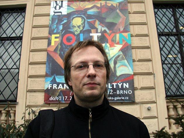 Podle kurátora Petra Ingerleho hraje Foltýn v českém abstraktním umění klíčovou roli.