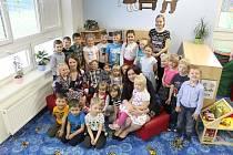 Děti z MŠ Petrovice.