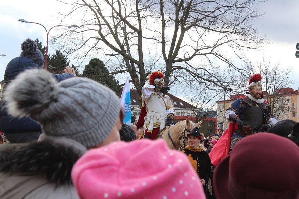 V Blansku přivítali svatého Martina. Slavnostní průvod prošel městem.