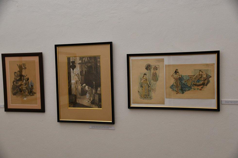 Předehra ke slávě. Výstava v Muzeu regionu Boskovicka přibližuje ranou tvorbu světoznámého malíře Alfonse Muchy z let 1881 až 1895.