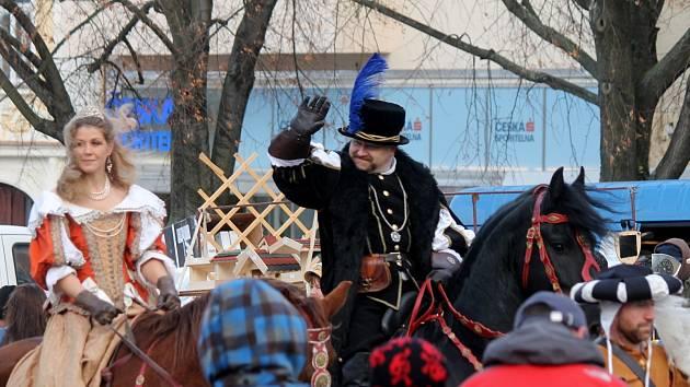 Vánoční jarmark tradičních řemesel a výrobků v Boskovicích. Ilustrační foto