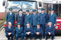 Sbor dobrovolných hasičů ze Senetářova.