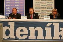 Předvolební diskuze v Blansku