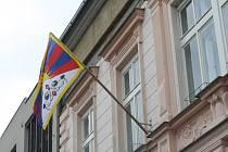 Tibetské vlajky v Letovicích