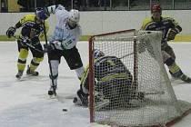 Hokejsité Blanska vyhráli první zápas play off s Velkou Bíteší 4:2.