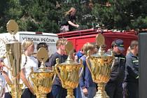 Dobrovolní hasiči z boskovického sboru Mazurie slaví osmdesáté výročí.