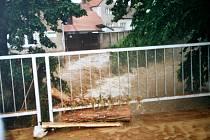 Sloupem se před deseti lety prohnala ničivá blesková povodeň. Způsobila škody za dvacet milionů korun.