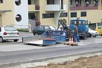 Autonehoda v Blansku.