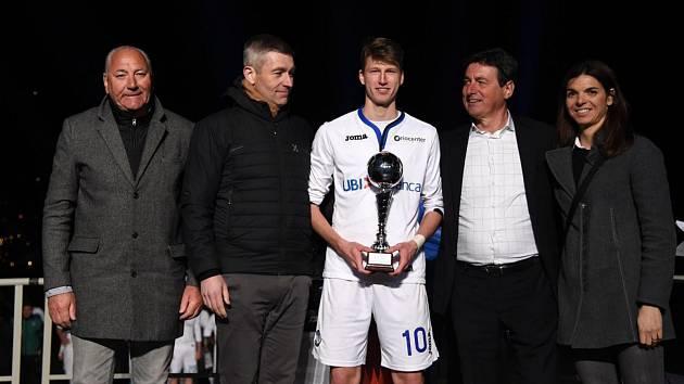 Lukáš Vorlický byl vyhlášen nejlepším hráčem prestižního mezinárodního turnaje Arco.