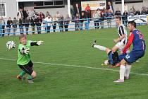 Fotbalisté Blanska remizovali ve středeční divizní dohrávce se Žďárem nad Sázavou 0:0.