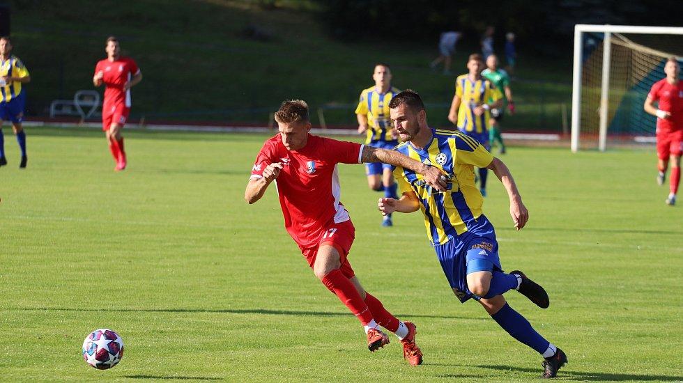 Sport fotbal FNL FK Varnsdorf vs. FK Blansko