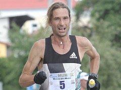 Ultramaratonec Daniel Orálek.