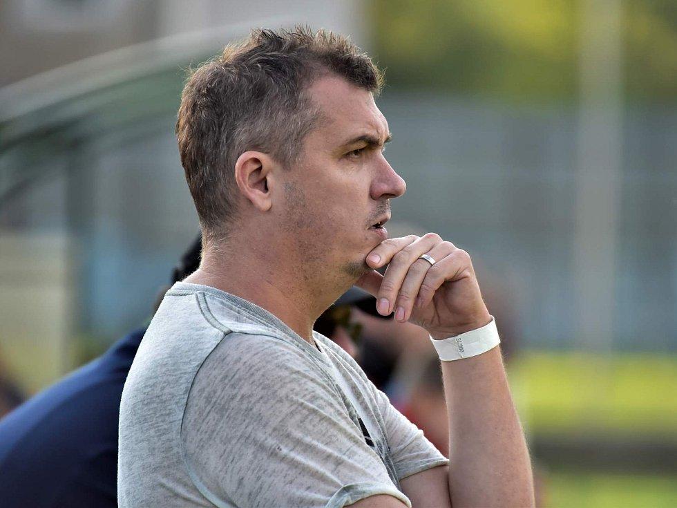 Martin Maša trenér fotbalistů SK Olympia Ráječko krajský přebor