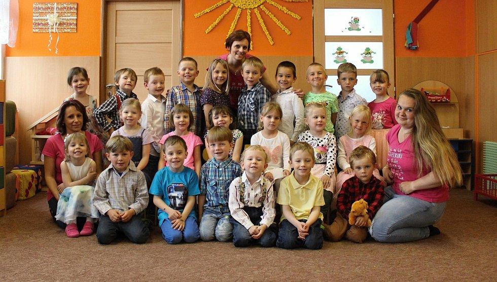 Děti z Mateřské školy v Šošůvce.