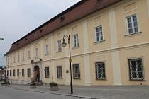 Bývalá hraběcí rezidence na Hradní ulici v Boskovicích.