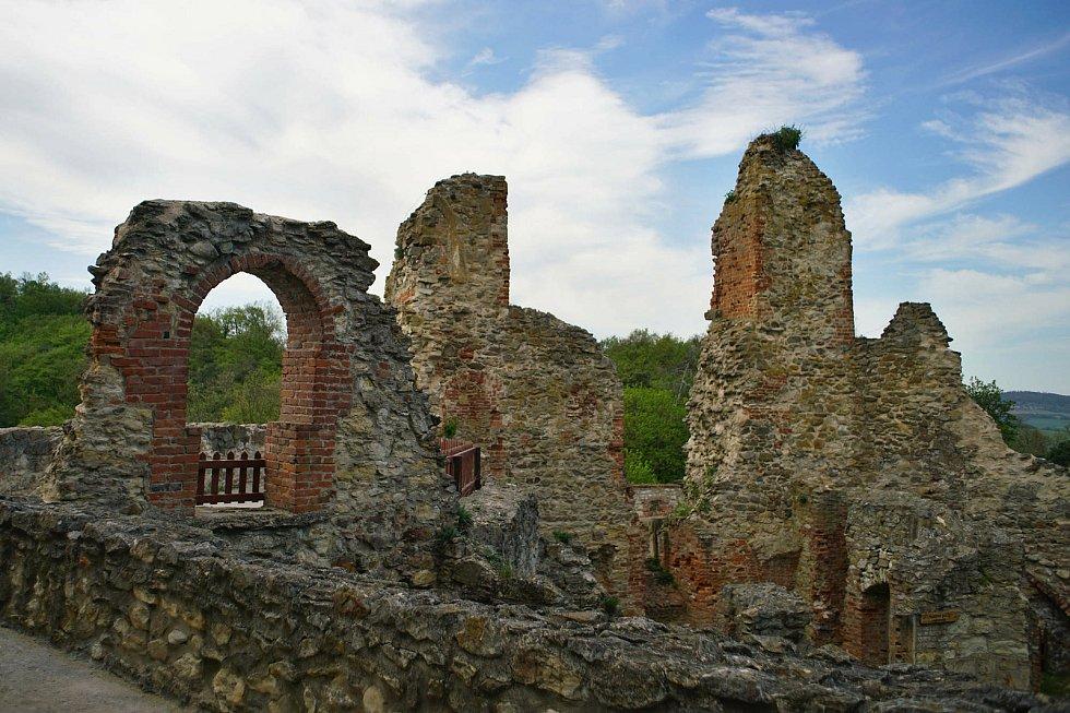 Návštěvníky vítá už i boskovický hrad.