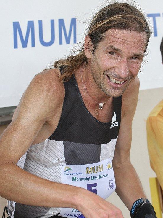 Daniel Orálek vyhrál další ročník Moravského ultramaratonu na Blanensku