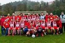 Fotbalisté FC Kvasar Černá Hora vyhráli I. Italcars ligu v malé kopané na Blanensku i okresní pohár.