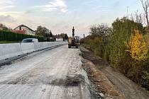 Uzavírka silnice I/43 a objízdná trasa přes Černou Horu skončí už 31. října.