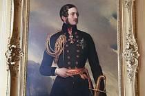 Ve spolupráci s Národním památkovým ústavem se po více jak ročním jednání podařilo získat na boskovický zámek do zápůjčky velkou část rodinné portrétní galerie předků majitelů zámku. Na snímku princ Albert.