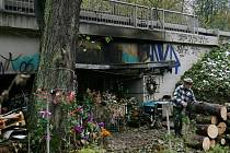 Třiašedesátiletý muž ze Slovenska, známý pod přezdívkou Král Šumavy, přežívá pod mostem kousek od Blanska.