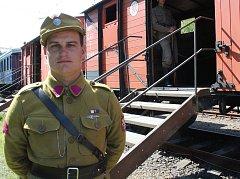 V Blansku stojí Legiovlak. Ojedinělá putovní výstava věnovaná českým a slovenským legionářům.