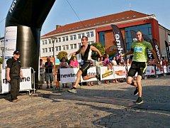 Půlmaraton Moravským krasem 2017 v Blansku.