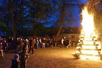 Vzpomínka na pálení čarodějnic v Doubravici v roce 2019.