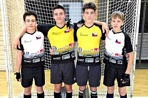 V  Chrastavě a v Liberci svitáveckou kolovou reprezentovali - zleva: Martin Konečný, David Petr, Michal Musil a Ondřej Valíček.
