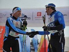 Blanenský sportovní nadšenec Petr Karlík na startovním roštu Jizerské padesátky.