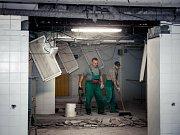 Oprava rehabilitačních prostor v blanenské nemocnici.