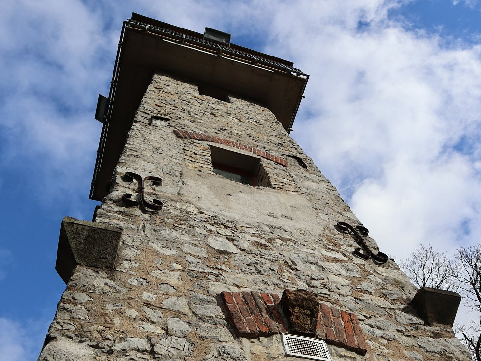 Z výletu na Alexandrovu věž v Adamově.