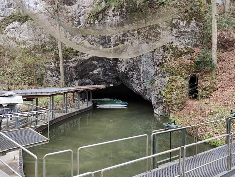 Výlet Moravským krasem. Punkevní jeskyně.