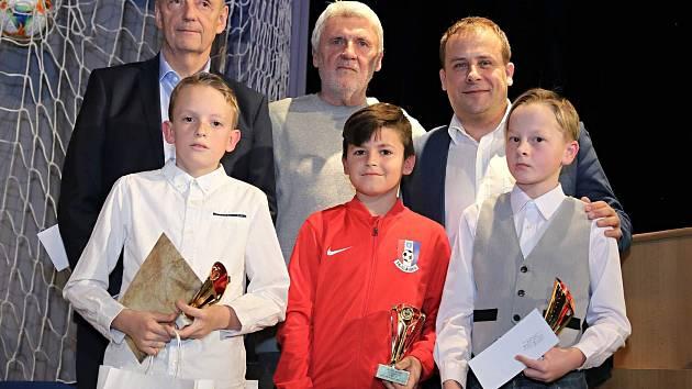 Anketu o nejlepšího fotbalistu Blanenska za rok 2018 vyhrál David Bednář z FK Blansko.