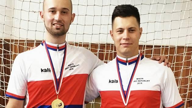 Jiří Hrdlička mladší (vlevo) a Roman Staněk.