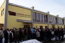 Sokolovna v Rájci-Jestřebí v novém kabátu.