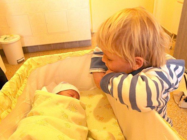 Prvním dítětem narozeným v roce 2012 na Blanensku je Rozálie Kubová z Boskovic.