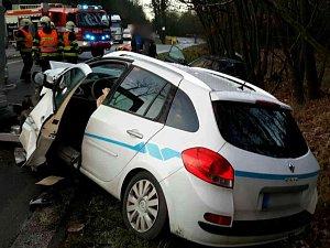 Nehoda u Černé Hory zablokovala provoz na I/43. Auta musí přes Blansko