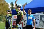 Druhý závod letošního ročníku Poháru Drahanské vrchoviny horských kol v Benešově vyhrál Dominik Prudek.