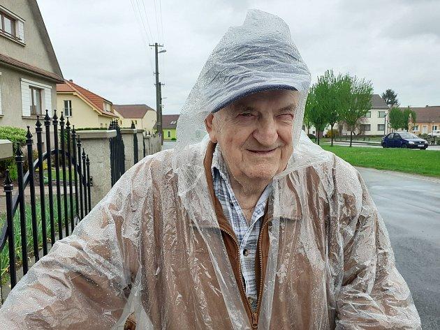 Milan Šamšula, 82let, vdůchodu.