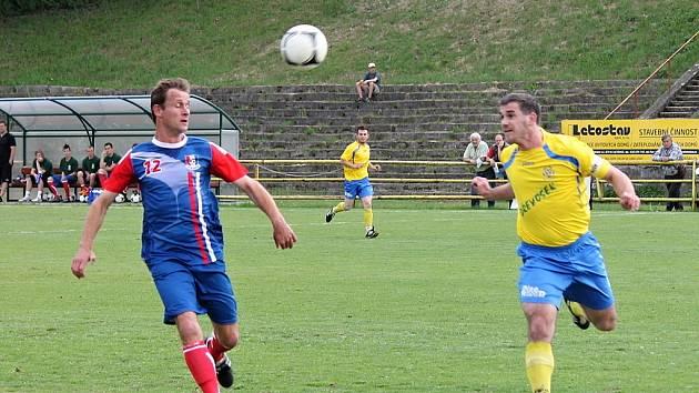Fotbalisté Blanska porazili Ivančice 1:0.