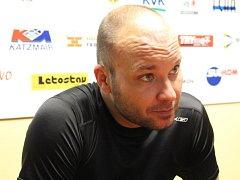Sportovní manažer boskovických hokejistů Petr Hrachovina.