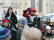 Boskovičtí pořádali na Masarykově náměstí jubilejní dvacátý ročník Vánočního jarmarku.